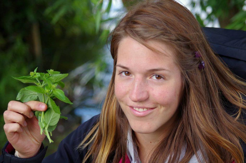 Lada Klimešová, studentka biologie