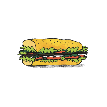 V kuchyni fast foodu